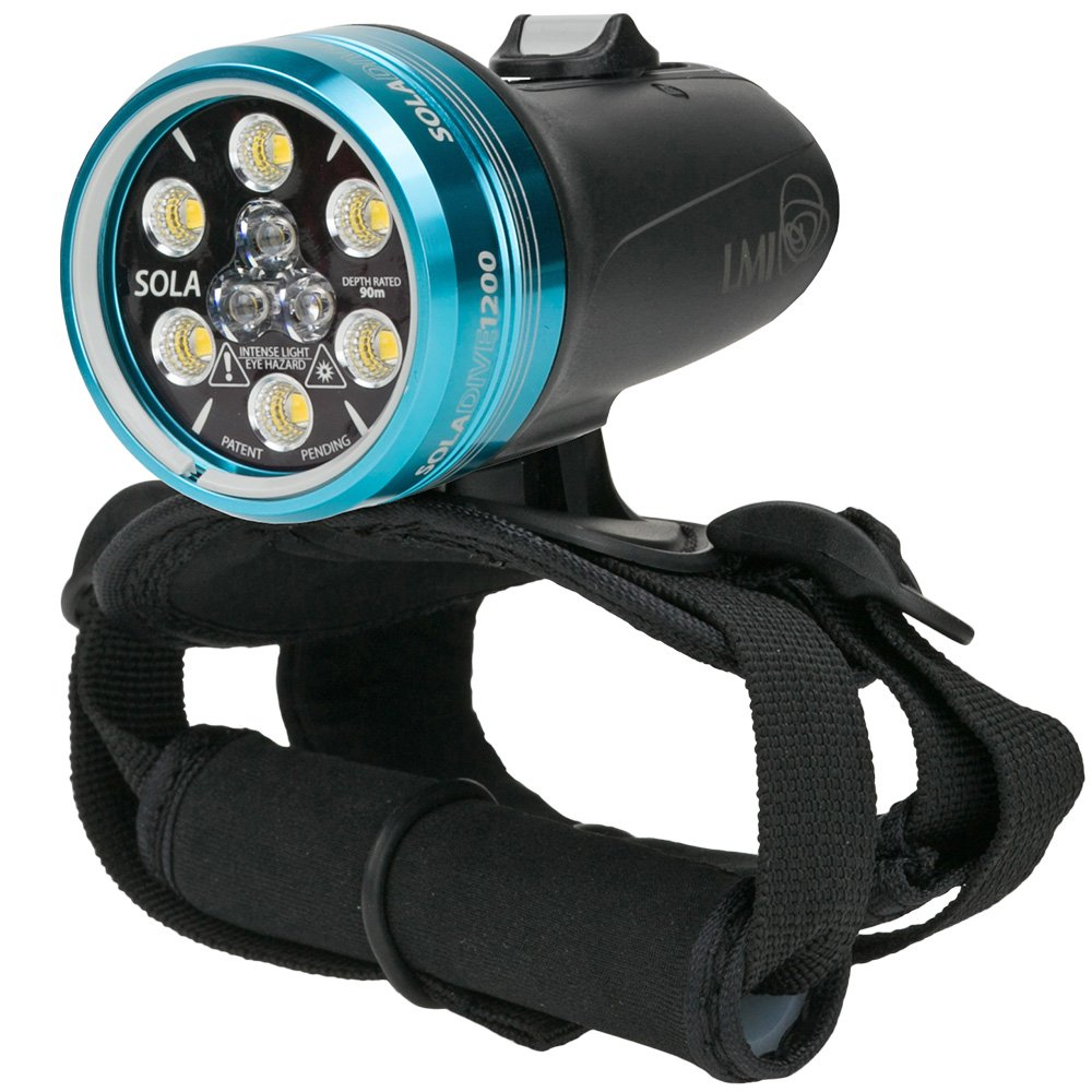 Light & Motion SOLA Dive 1200 S/F Underwater Light by Light and Motion