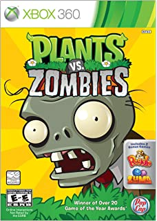 Plants vs Zombies XBOX360: Xbox 360: Computer and Video Games