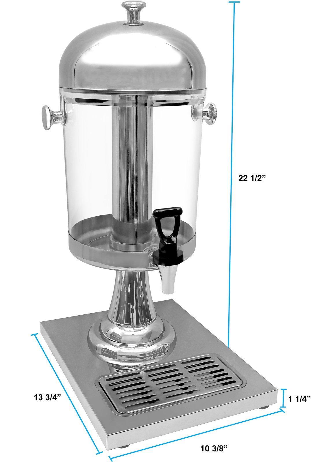 Estilo Heavy Duty Stainless Steel Drink Dispenser, 8L by Estilo (Image #2)