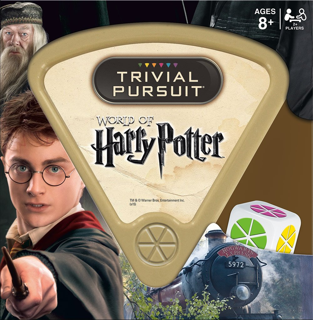 USAOPOLY World of Harry Potter Edition Trivial Pursuit Board Game TP010-400 Accessory Consumer Accessories