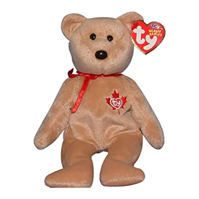 1 X TY Beanie Baby - TRUE the Bear (Canada Exclusive): Toys & Games