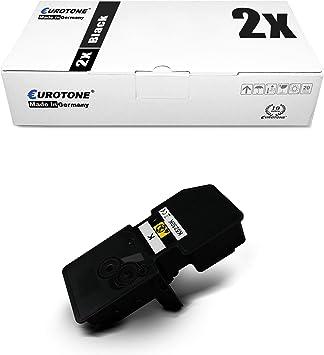 2x Eurotone Toner Für Kyocera Ecosys P 5021 Wie Tk 5230k Tk5230k Tk5230 Tk 5230 Black Bürobedarf Schreibwaren