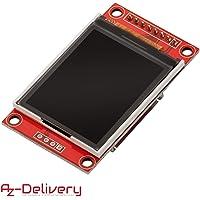 AZDelivery Modulo Pantalla Display 128 x 160 Pixeles 1.8 Pulgadas SPI TFT compatible con Arduino y Raspberry Pi con E-Book incluido!