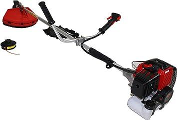Bricoferr AM0002 Desbrozadora (43cc, motor de 2T a gasolina, 1,25 kW), 1250 W: Amazon.es: Bricolaje y herramientas
