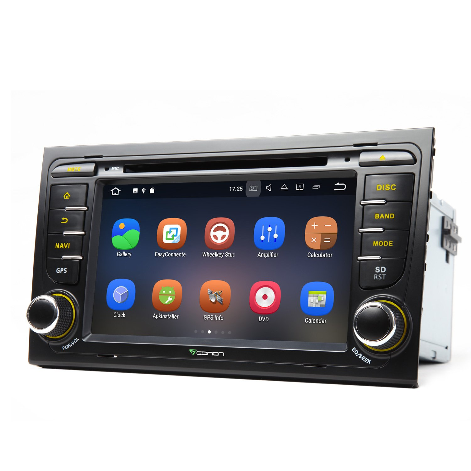 Eonon GA8158 Car Audio Stereo Radio  for Audi A4/S4/RS4 and Seat Exeo Android 7.1 2GB RAM Quad- Core 7 Inch HD Digital Touch Screen Car GPS Navigation Supports Bluetooth Wifi MirrorLink AUX USB