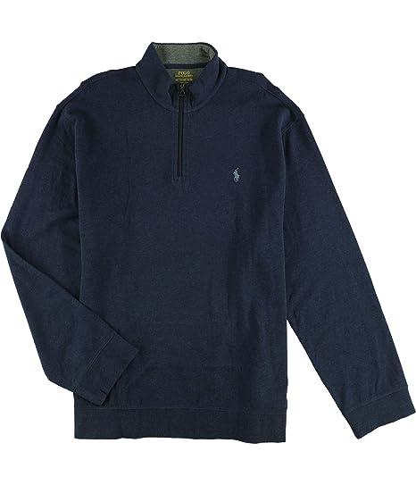 1918c426d Ralph Lauren Mens Jersey Pullover Sweater Blue 2XL at Amazon Men s ...