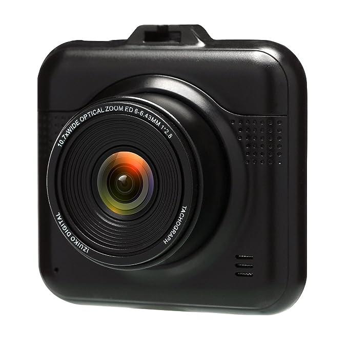 38 opinioni per BUIEJDOG Dash Cam Telecamera per Auto Full HD 1080P, Obiettivo Grandangolare di