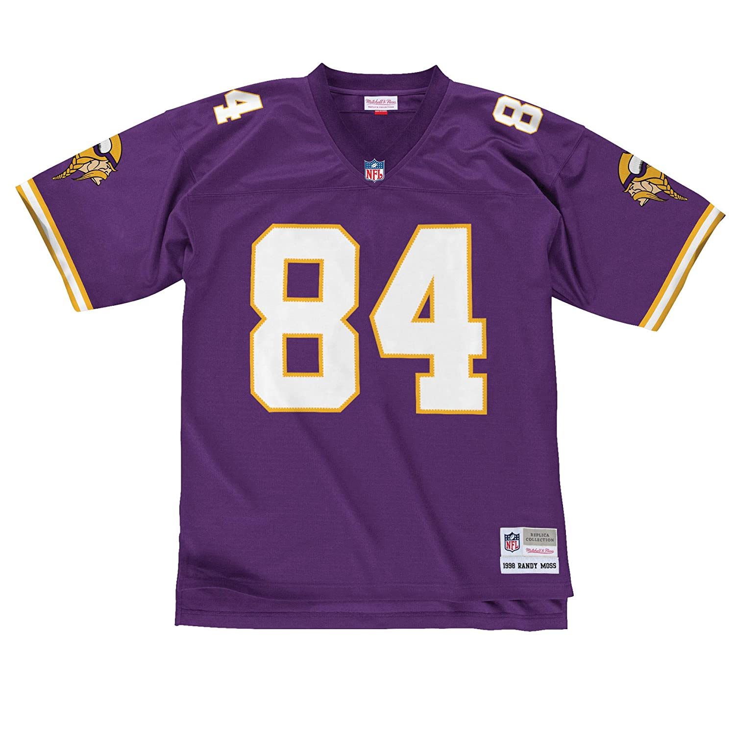 separation shoes 3ab8a a47ce Mitchell & Ness Randy Moss Minnesota Vikings NFL Throwback Premier Jersey