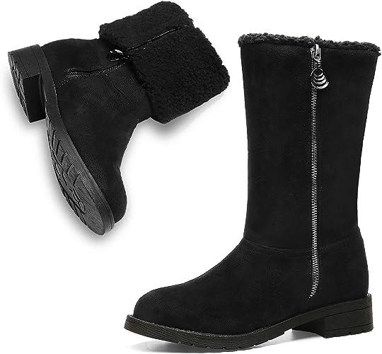: Botas de invierno para mujer con cierre de