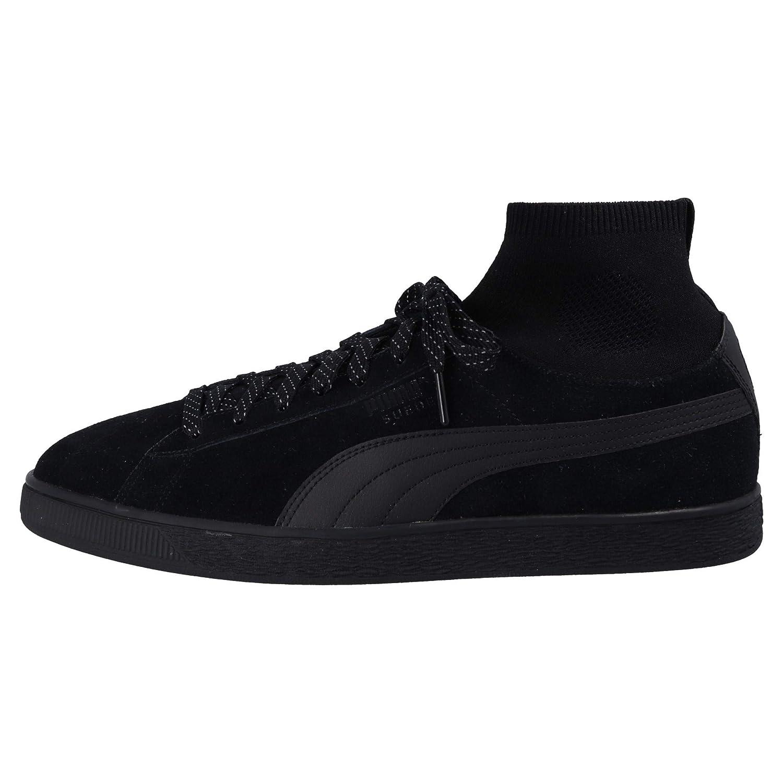 Puma Suede Classic Sock Homme Baskets Mode Noir, Pointure:47