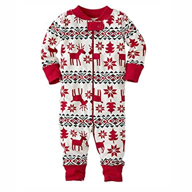 raylans newborn infant christmas pajamas family matching christmas pajamas sets dad mom kids baby sleepwear baby