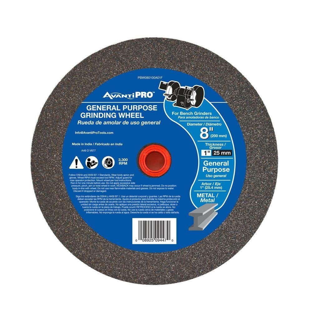 10 Diameter 60 Grit Norton 39C Vitrified Bench and Pedestal Abrasive Wheel Pack of 1 1-1//2 Thickness 1-1//4 Arbor Silicon Carbide Type 01 Straight