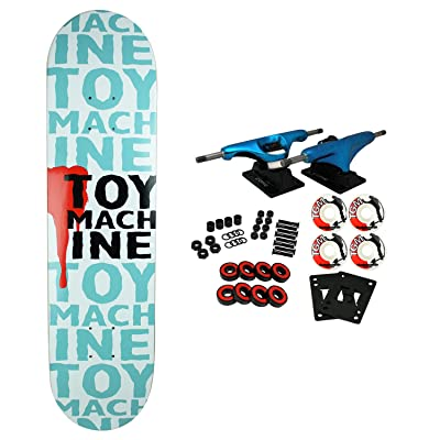 "Toy Machine Skateboard Complete New Blood 7.63"" x 31.75"" : Sports & Outdoors"