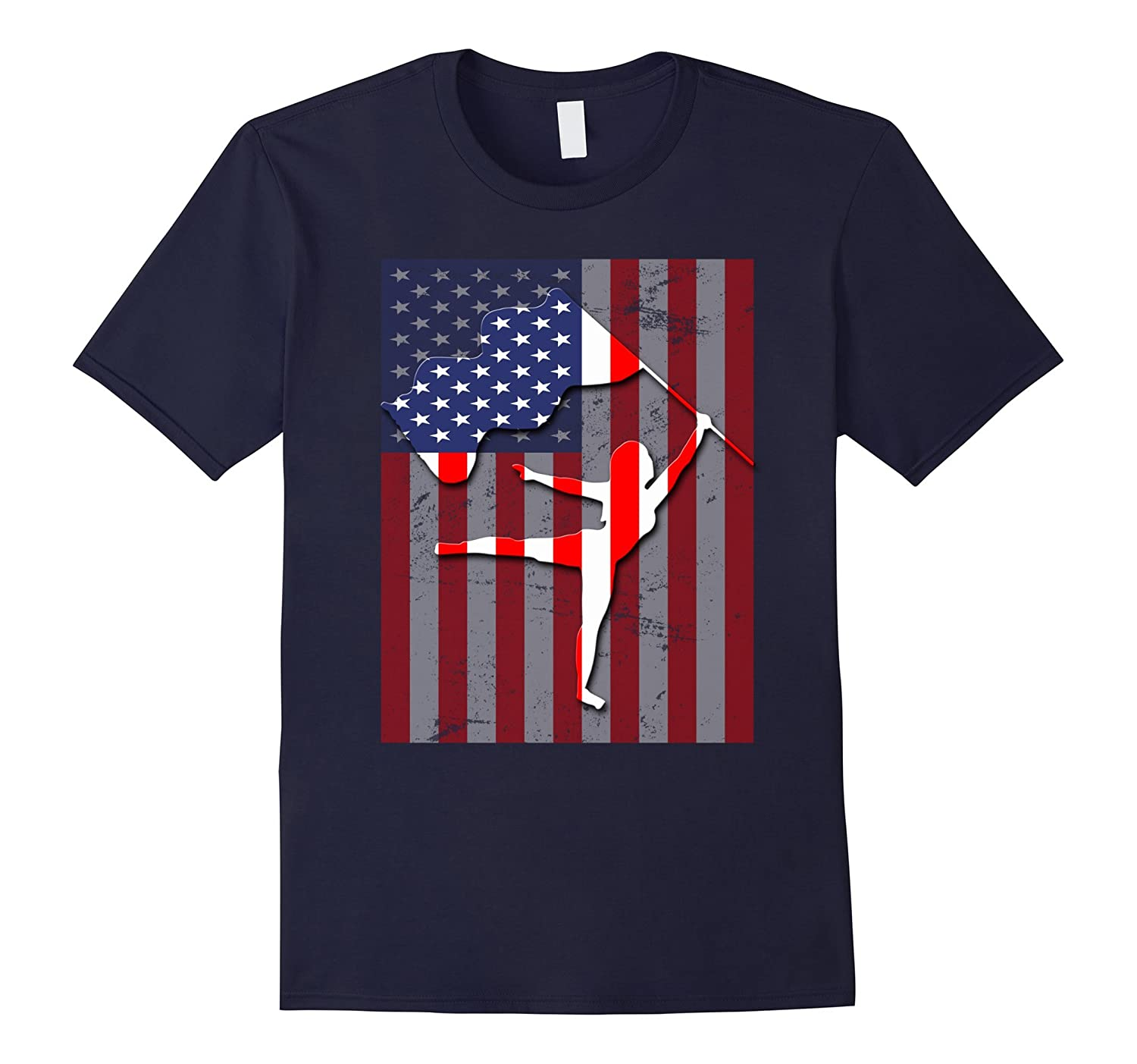 Color Guard American Flag T-Shirt Special Gift-RT