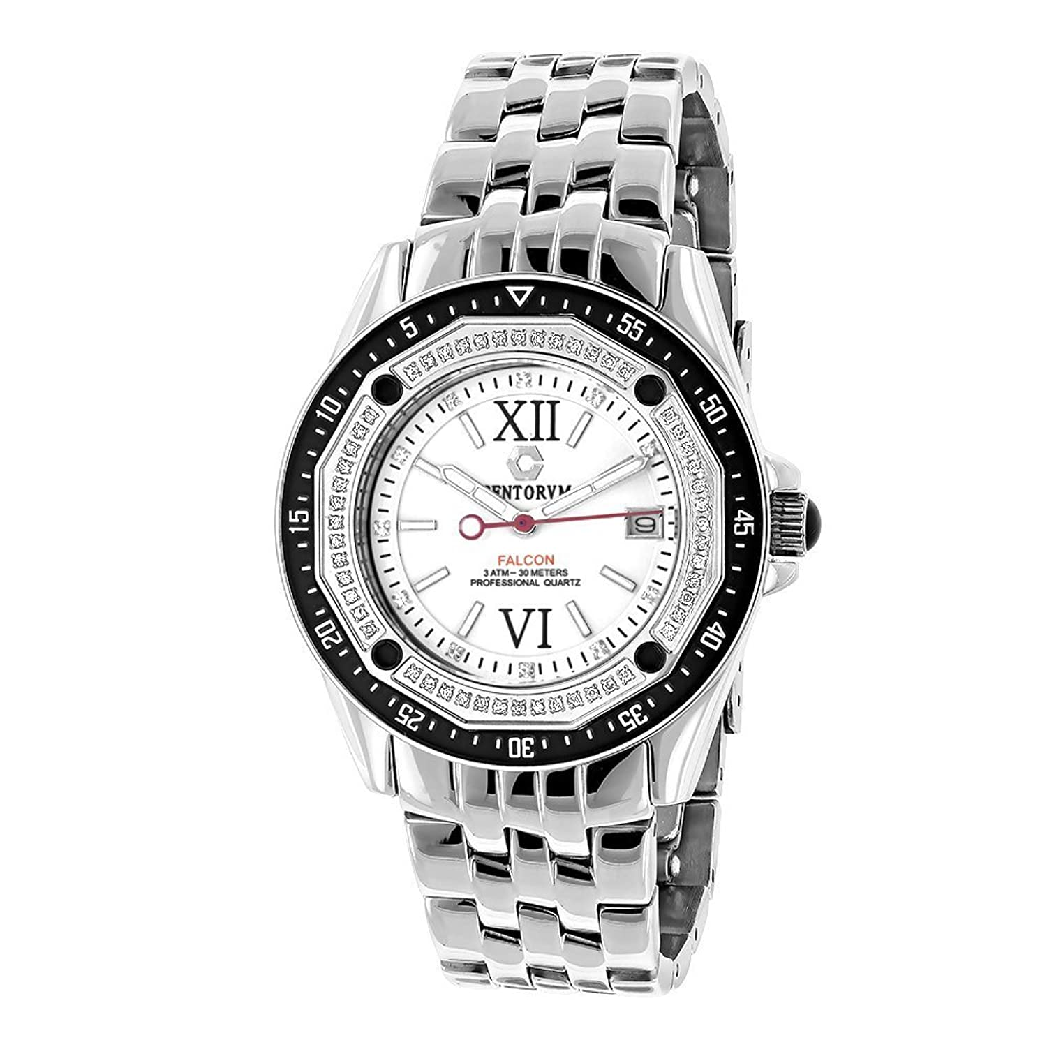Centorum Falcon Diamond Watch 0.5ct Midsize Model