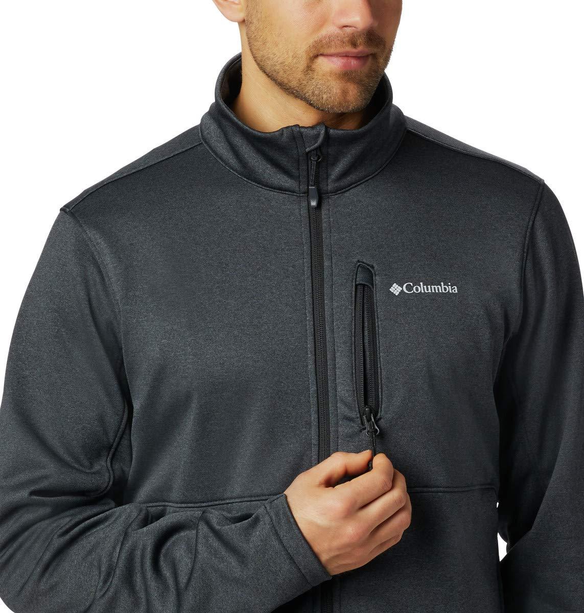 Columbia Herren Outdoor Elements Fleece-Jacke mit Durchgehendem Rei/ßverschluss