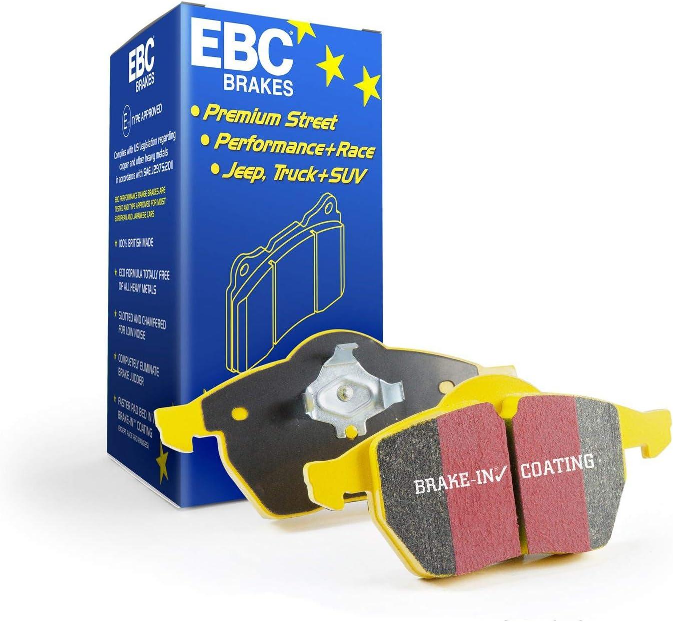 High order EBC Brakes DP41218R Award-winning store Yellowstuff Street Track Brake Pad and