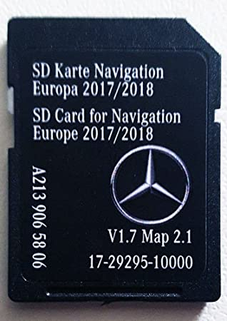 Tarjeta SD GPS MERCEDES - w213 Classe E - NTG5.5 - Europe ...