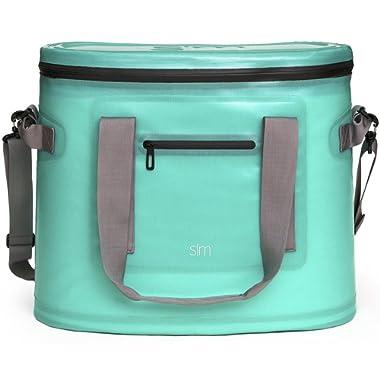 Simple Modern 30 Liter Weekender Soft Cooler Bag - Caribbean Blue