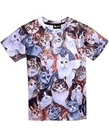 ピゾフ(Pizoff) メンズ Tシャツ (L, Y0513-51)