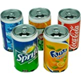 Coca-Cola Can Mini Audio Stereo/MP3 Player Speaker with USB Recharge