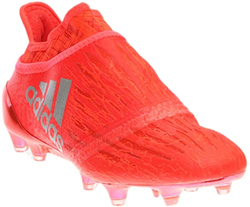 39433ee4830c Adidas X 16+ Purechaos Youth Firm Ground Cleats  SOLRED  (5)  Amazon ...