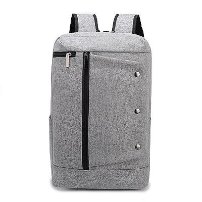 Weekend Shopper Lightweight Laptop Backpack Bookbag Rucksack School Backpack College Backpack Laptop Bookbags for Women and Men fit 15.6 inch Laptops Grey