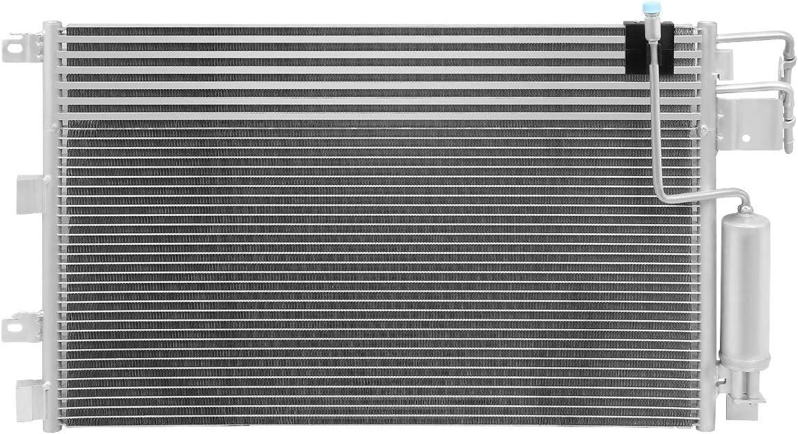 3672 Aluminum A//C Condenser Replacement for Ford Focus 2.0L 08-11
