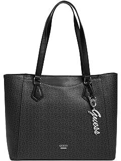 970a983a8 GUESS Women's Kamryn Gold-Tone Logo Embossed Shopper Tote: Handbags ...