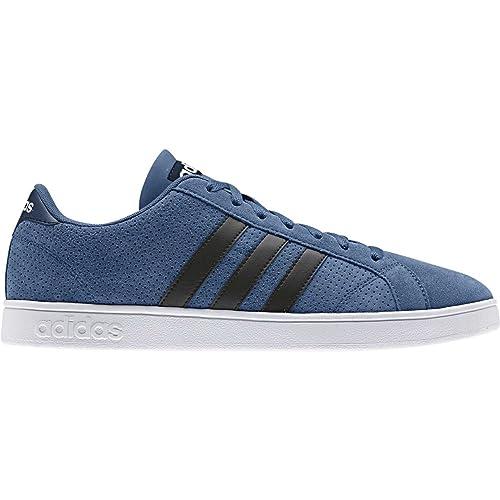 Adidas Baseline, Zapatillas de Deporte para Hombre, Varios Colores (Blanco (Ftwbla/Maruni/Ftwbla)), 46 2/3 EU