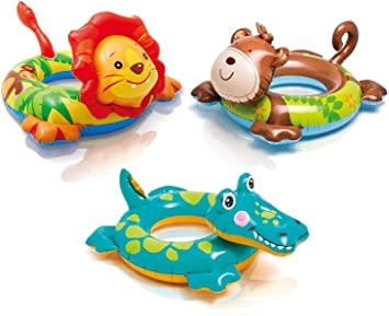 Bestway Inflatable Kids Childrens Animal Swim Ring Pool Float