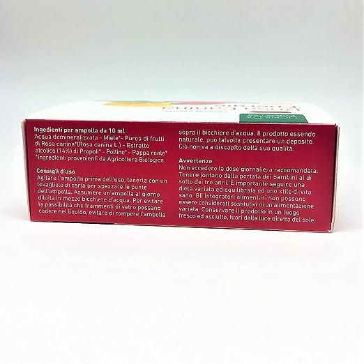 Rosa Canina bio Energy ricostituente - 10 Ampollas de 10 ml: Amazon.es: Salud y cuidado personal
