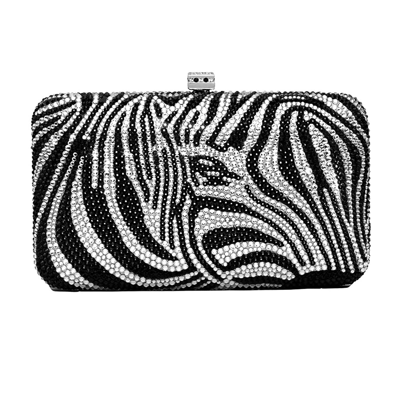 Sea The Stars Ladies Arc Day Clutch Bag Zebra