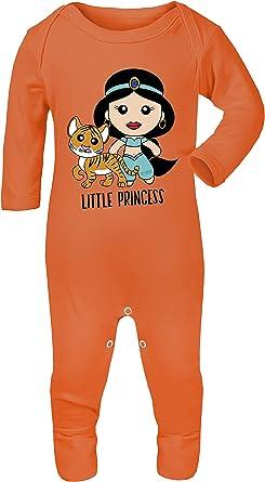 Colour Fashion Disfraz de Princesa Aladdin con Estampado de jazmín, 100% algodón, hipoalergénico 3-6 Meses: Amazon.es: Ropa y accesorios