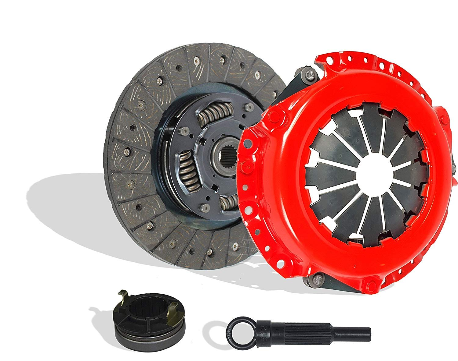 Clutch Kit Works With Kia Soul Base Lx Hatchback 4-Door 2010-2014 1.6L l4 GAS DOHC Naturally Aspirated (Stage 1)