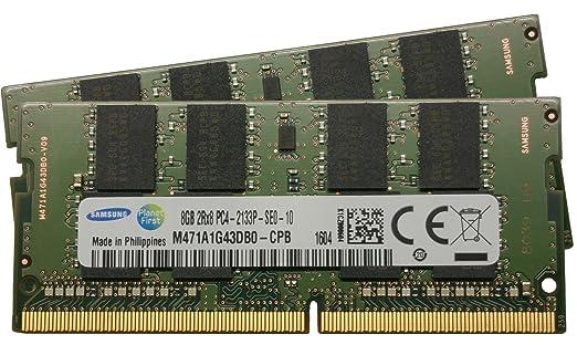 2 opinioni per SAMSUNG 16 GB Kit Dual Channel 2 x 8 GB 260 pin DDR4 2133 SO-DIMM(2133 mhz,