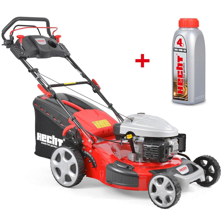 HECHT Cortacésped de gasolina 4,4 kw/6 PS de potencia del motor de ...