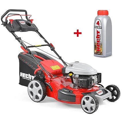 HECHT Cortacésped de gasolina 4,4 kw/6 PS de potencia del motor de