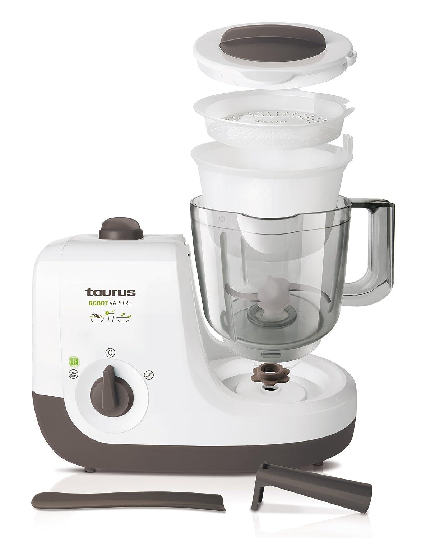 Robot Cocina Taurus | Taurus Robot Vapore Robot De Cocina Al Vapor Amazon Es Hogar