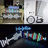 KKmoon DIYキット デジタルイコライザー LED デジタルモジュール 音楽スペクトラムディスプレイ キット モジュール