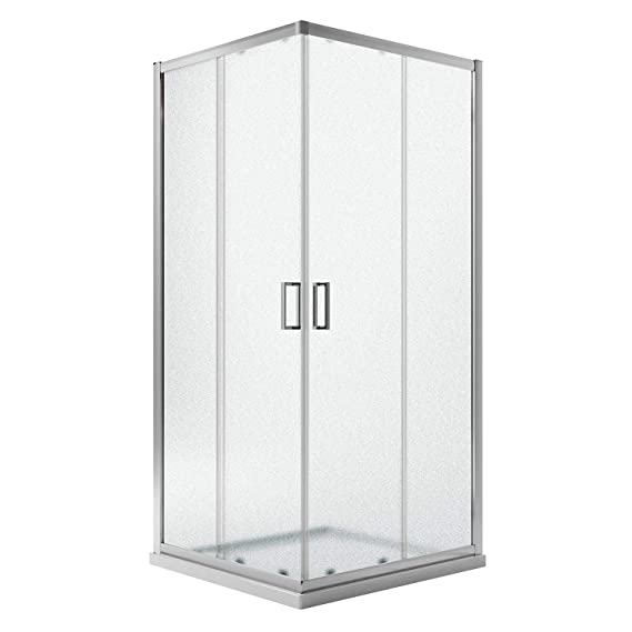Idralite Box Mampara de Ducha Rectangular 70x80 H200 Transparente 6mm Mod. Ready: Amazon.es: Hogar