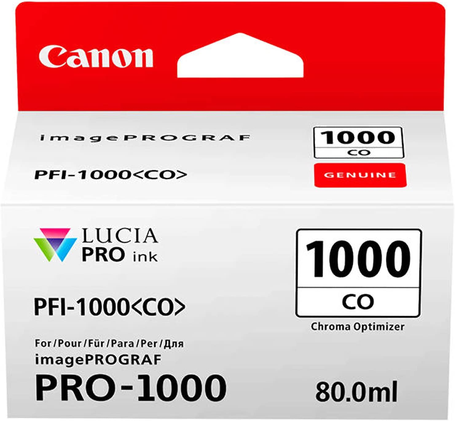 Canon Pfi-1000 Co Chroma optimizer ink ta
