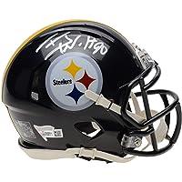 T.J. Watt Pittsburgh Steelers Autographed Riddell Speed Mini Helmet - Autographed… photo