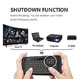 Mini Wireless Keyboard TNAIVE Mouse