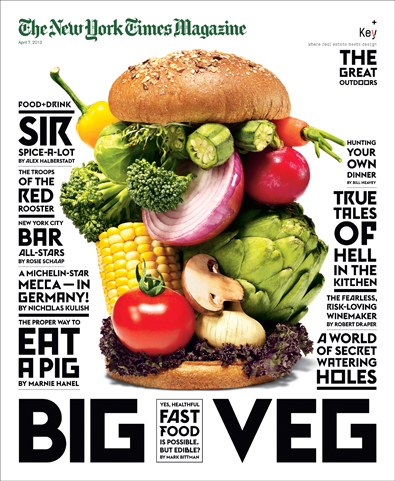 The New York Times Magazine, April 7, 2013 - BIG VEG pdf