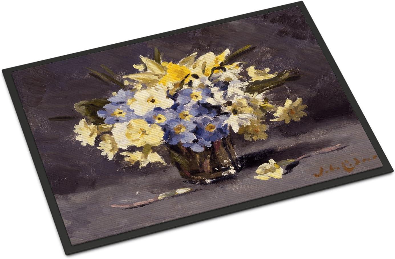 Caroline s Treasures CJC0039JMAT Spring Bouquet by John Codner Indoor or Outdoor Mat 24×36, 24H X 36W, Multicolor