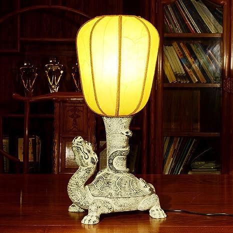 sdkky chino de mesa lámparas, lámparas de noche, lámpara de ...