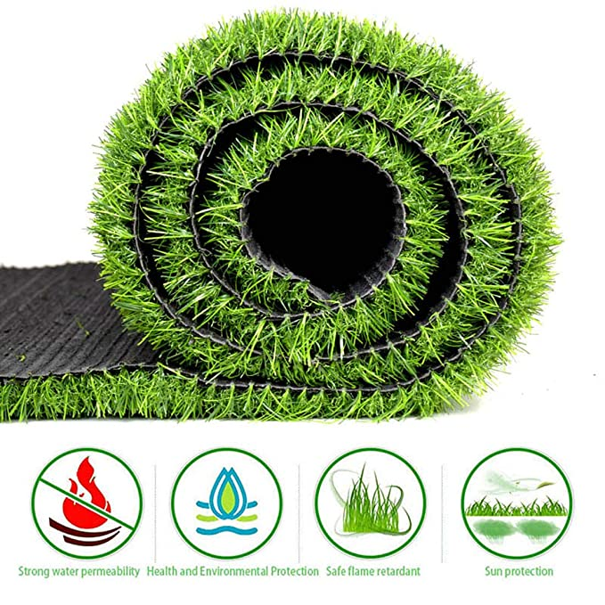 Césped Artificial al aire libre, los 2.5cm de la hierba del ...