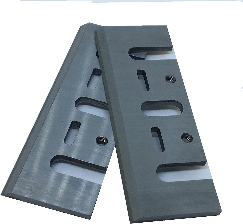 Caja de 2 cuchillas de 8 mm HSS para planchas Makita, Black ...