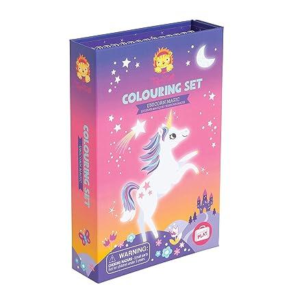 Tiger Tribe Unicorn Magic Coloring Set